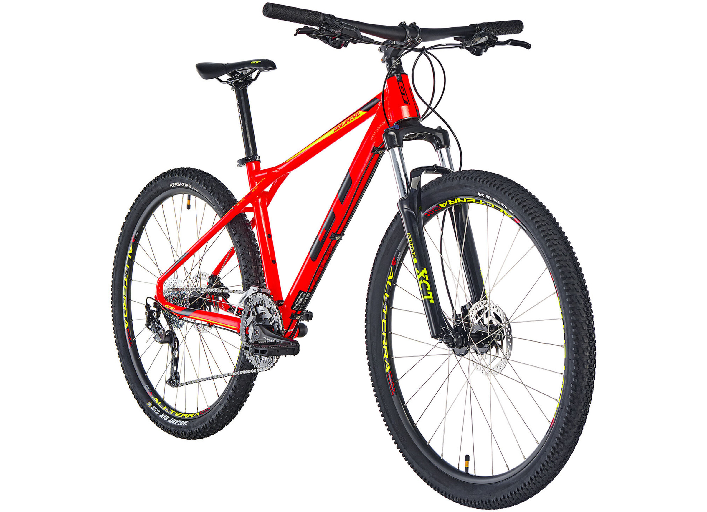 GT Bicycles Avalanche Sport MTB Hardtail 27,5 red at Bikester.co.uk